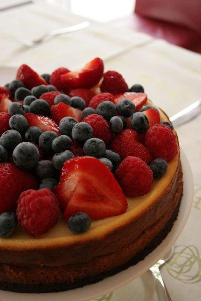 Berrycheesecake