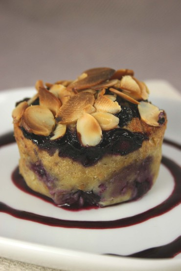 Bananablueberrybreadpudding