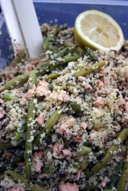 Salmonasparaguscouscous