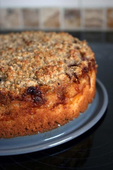 Apricotcrumblecake