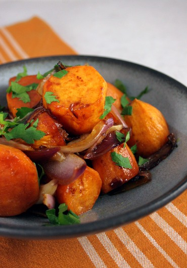 Roastsweetpotatoonion