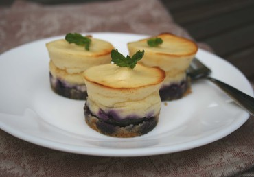 Blueberrymintcheesecake